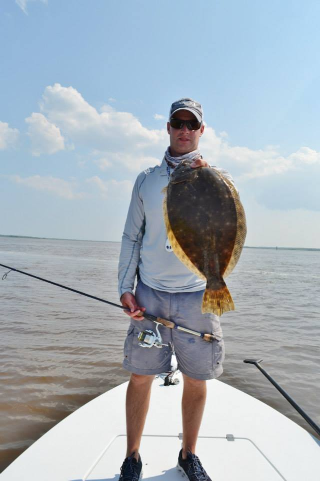 georgetown fishing charter-flounder