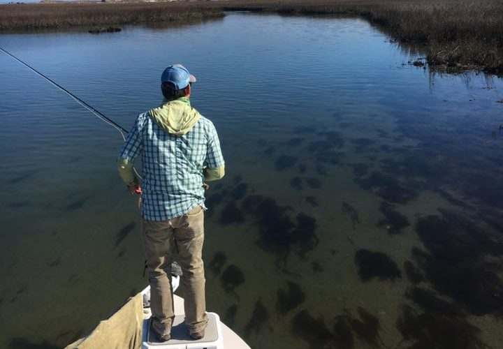 Flats fishing Pawleys island