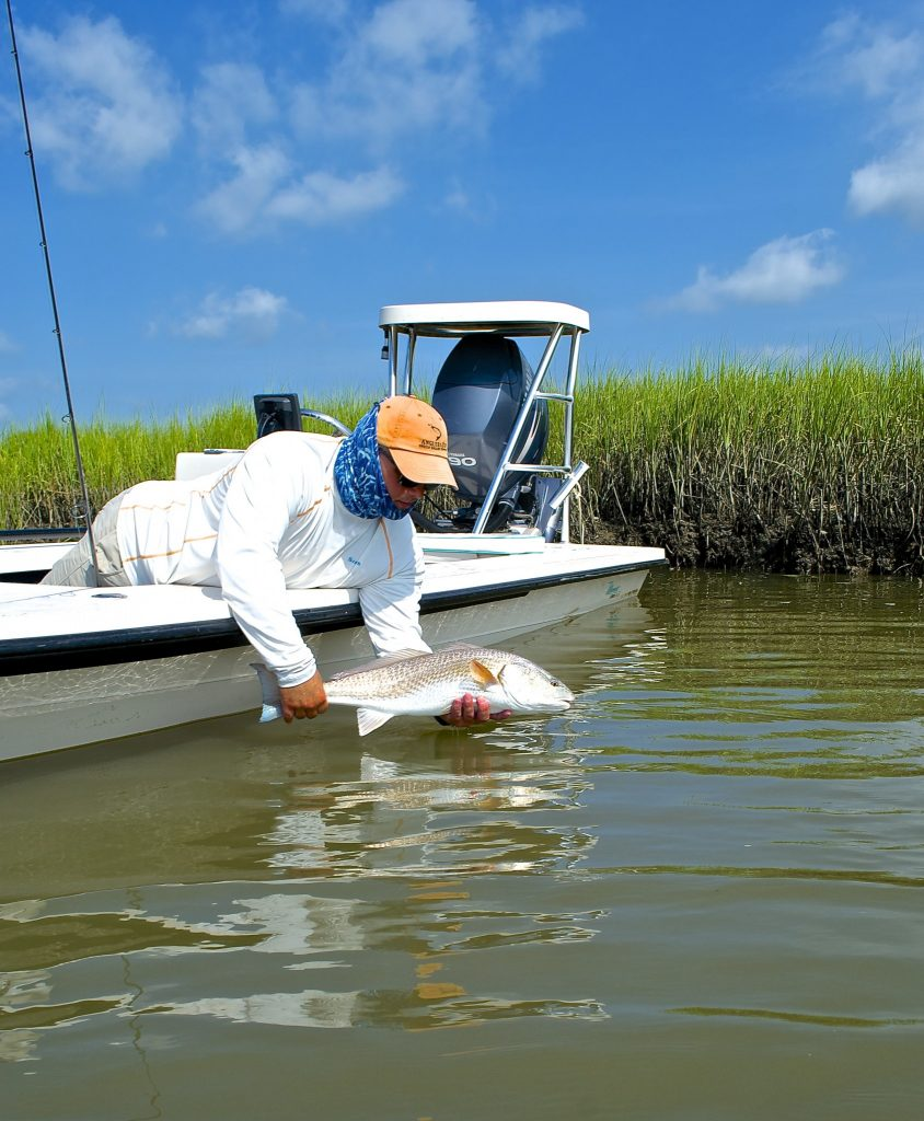 myrtle beach -Summer - fishing report- Redfish- charter-guide