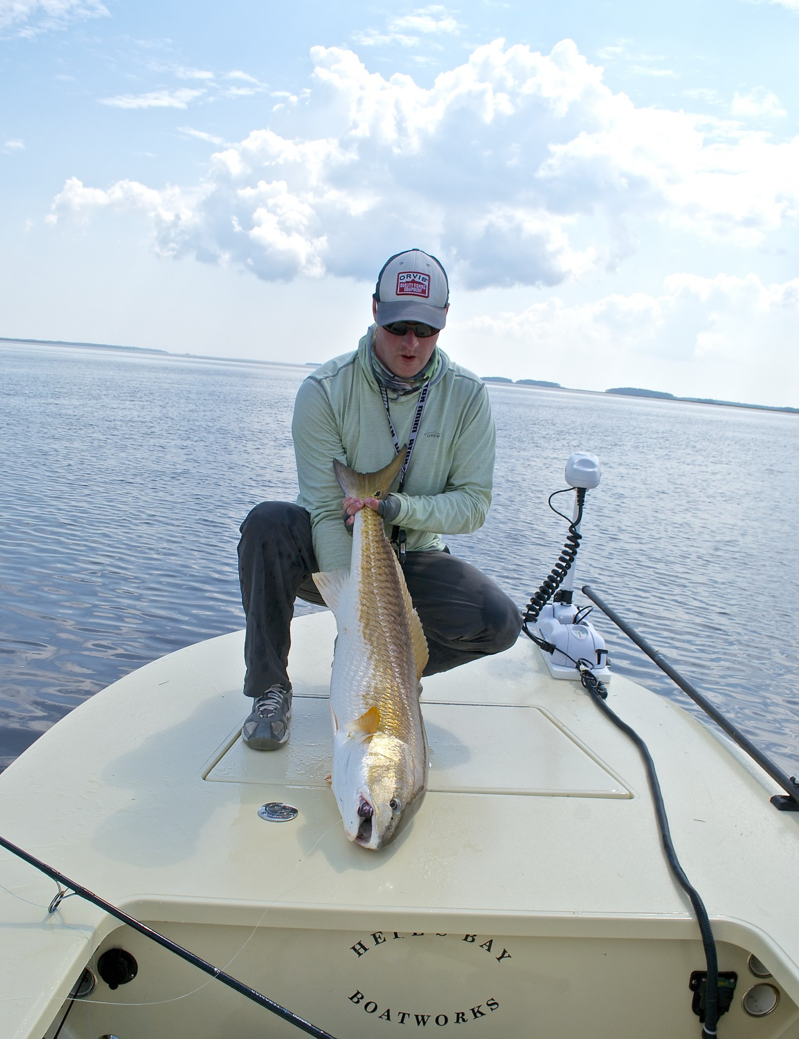 PAWLEYS ISLAND FISHING CHARTERS-REDFISH