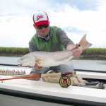 Fly fishing Winyah bay - gink and gasoline