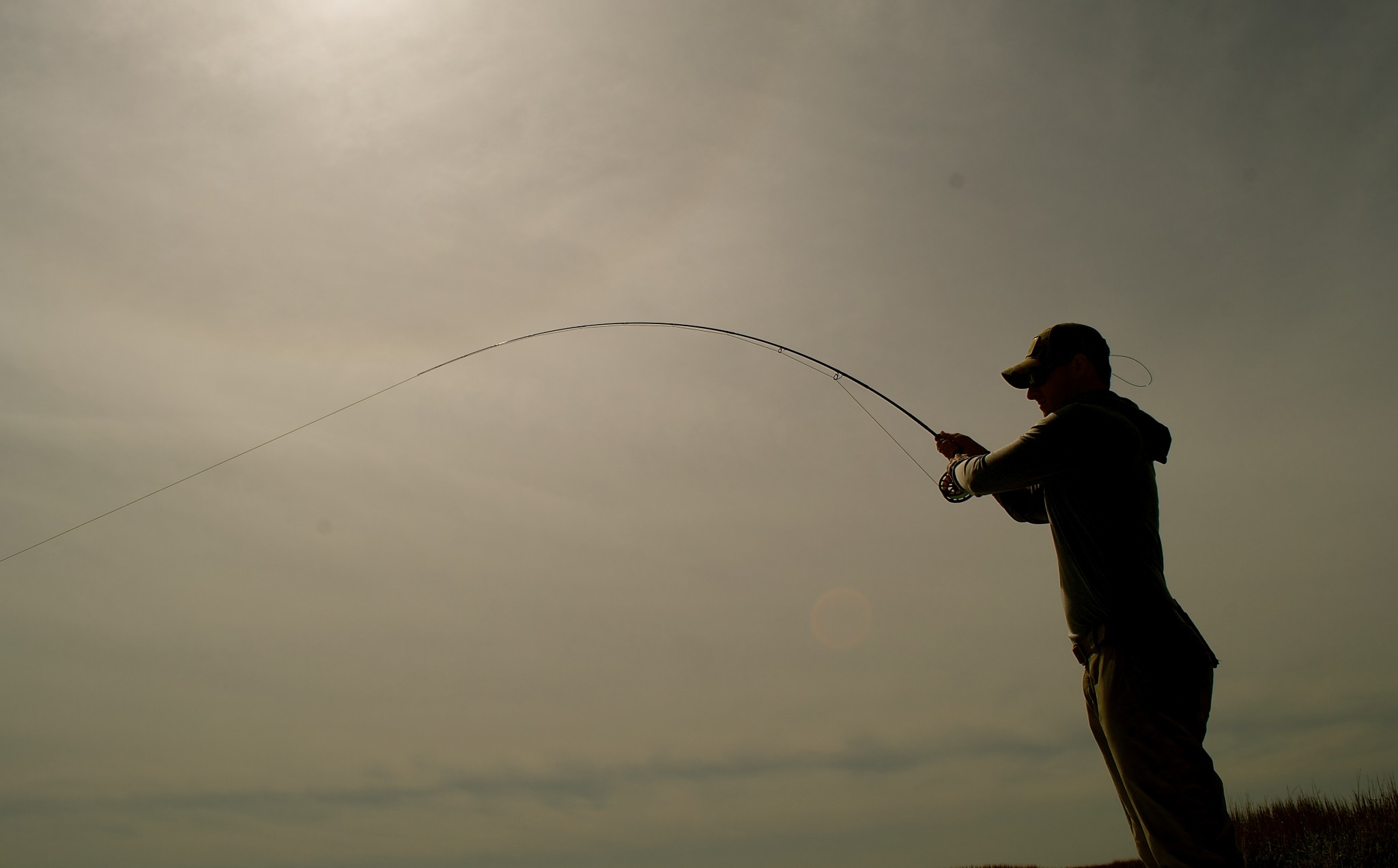 Early Summer fly Fishing -redfish-red drum-spot tail