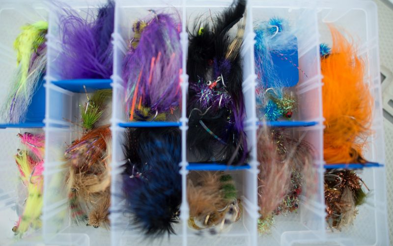 Saltwater Fly selection
