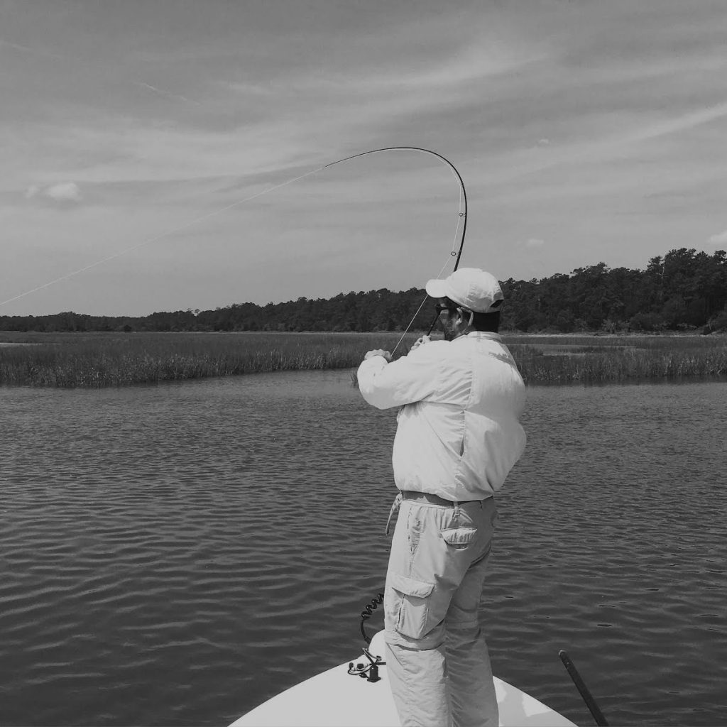Tailing redfish in the south carolina low country for Fly fishing for redfish