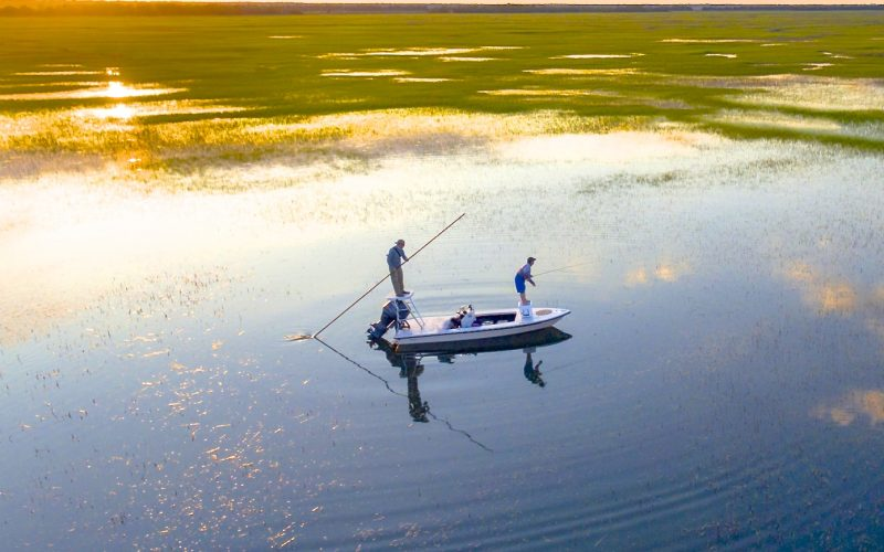Fly Fishing Winyah Bay