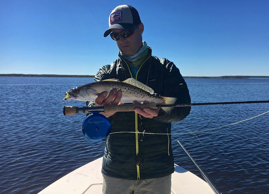 Captain Jeff Lattig- Speckled Sea Trout