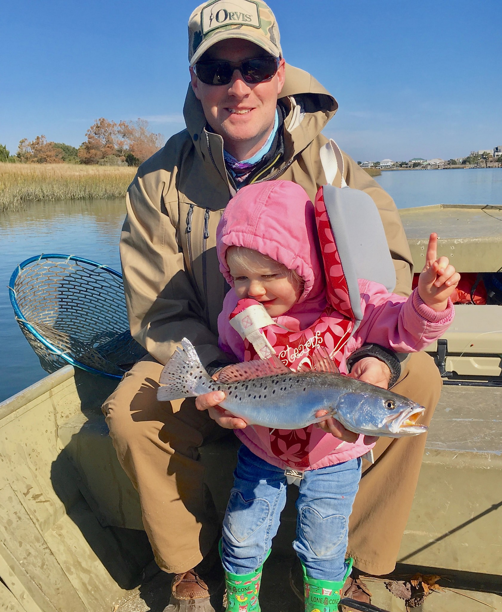 pawleys island Speckled Sea Trout Fishing