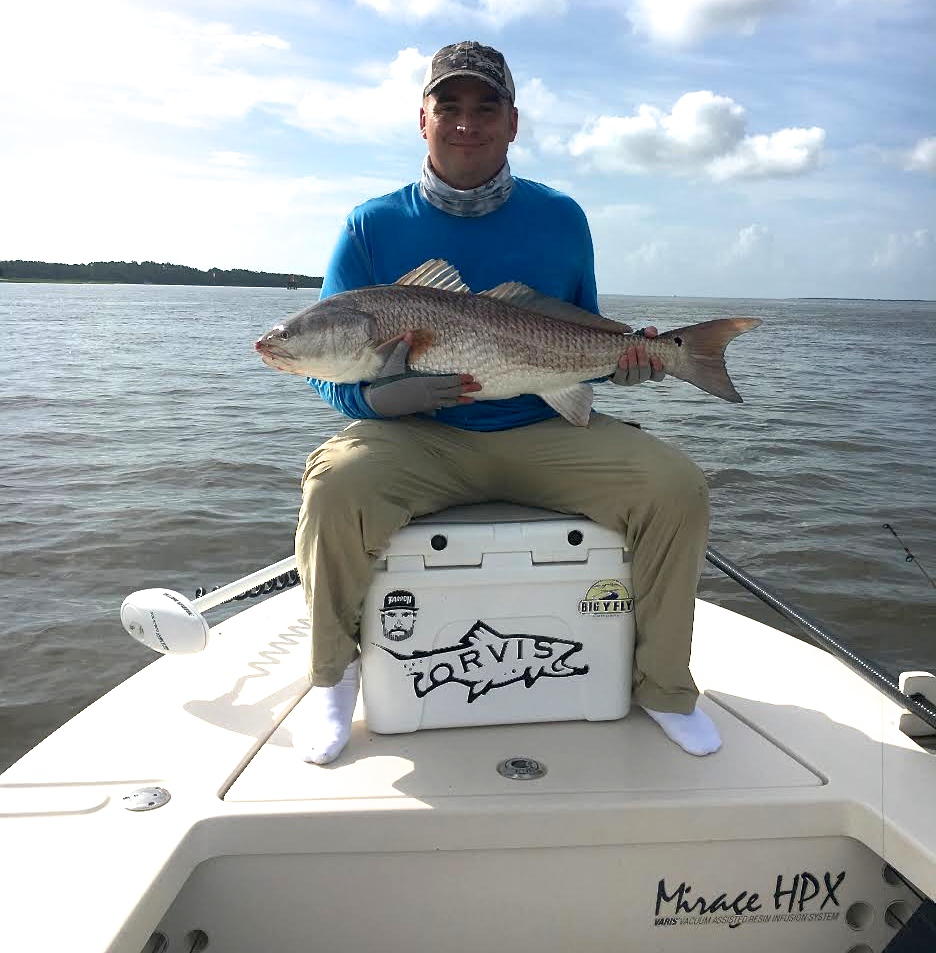 Summer Fishing Charters- Redfish