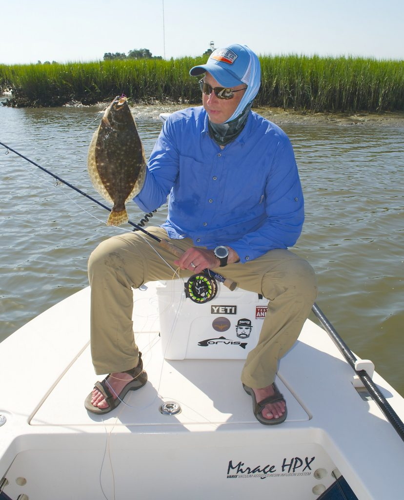 Pawleys Island Flounder Fishing- fly fishing