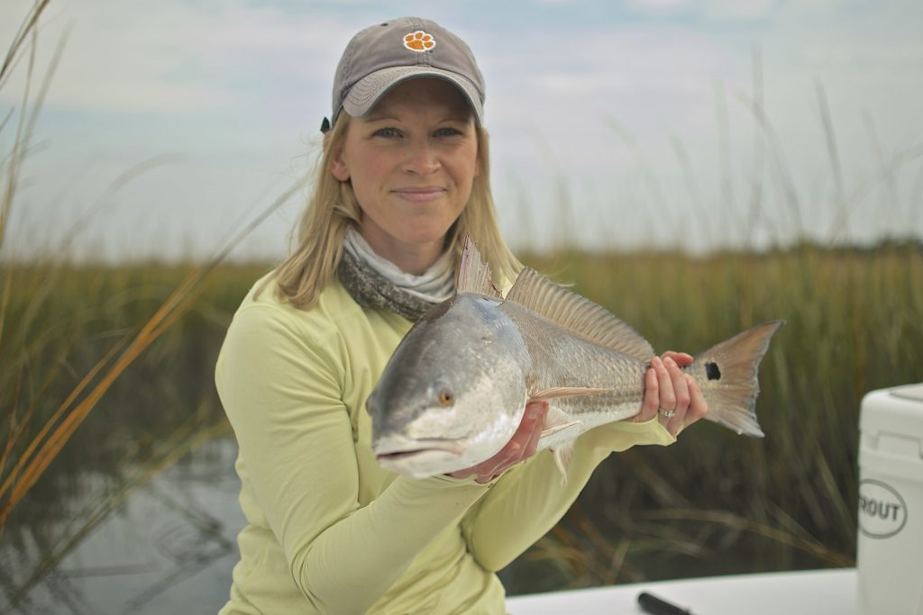 Early Summer fishing -redfish