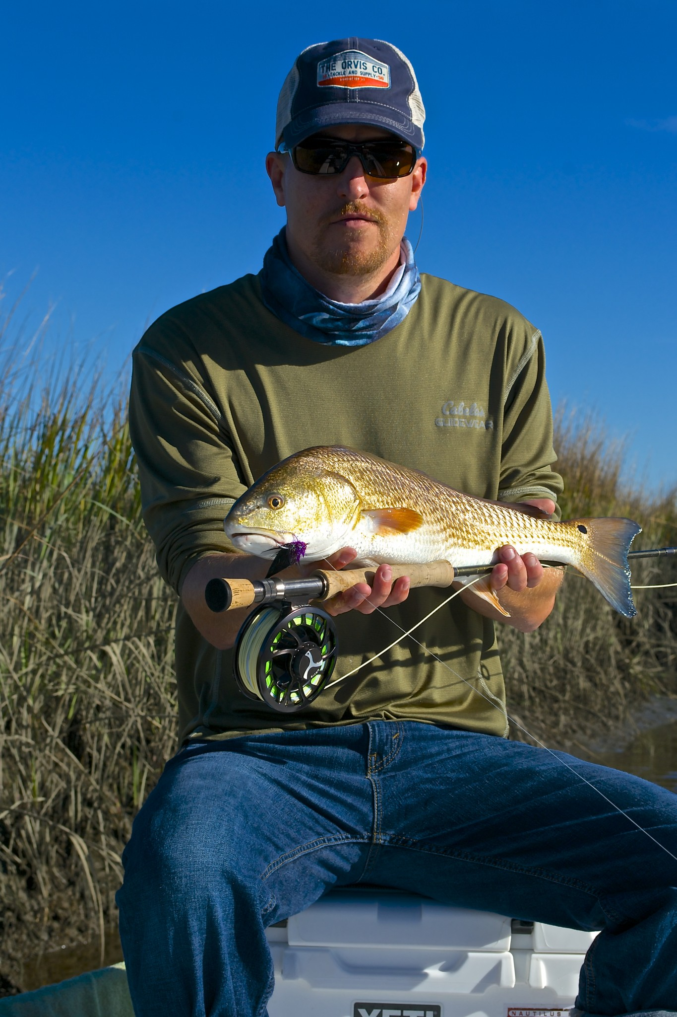 Pawleys Island fishing Charter- Fly fishing