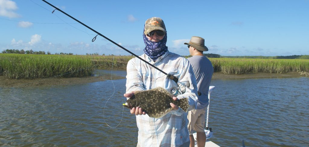 Flounder fishing Georgetown