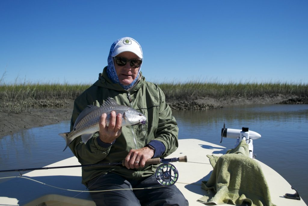 fly fish south Carolina - redfish