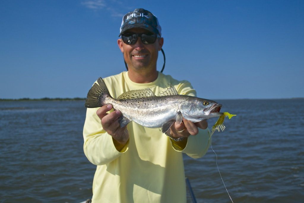 Early Summer Speckled Sea trout fishing