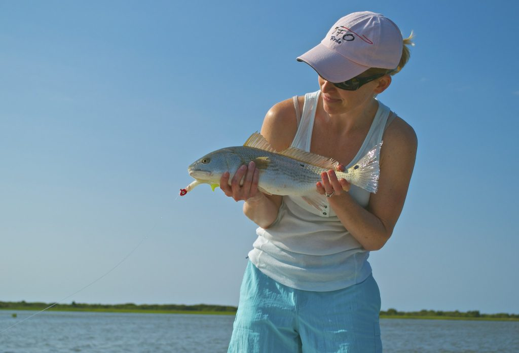 Early Summer fishing - Redfish