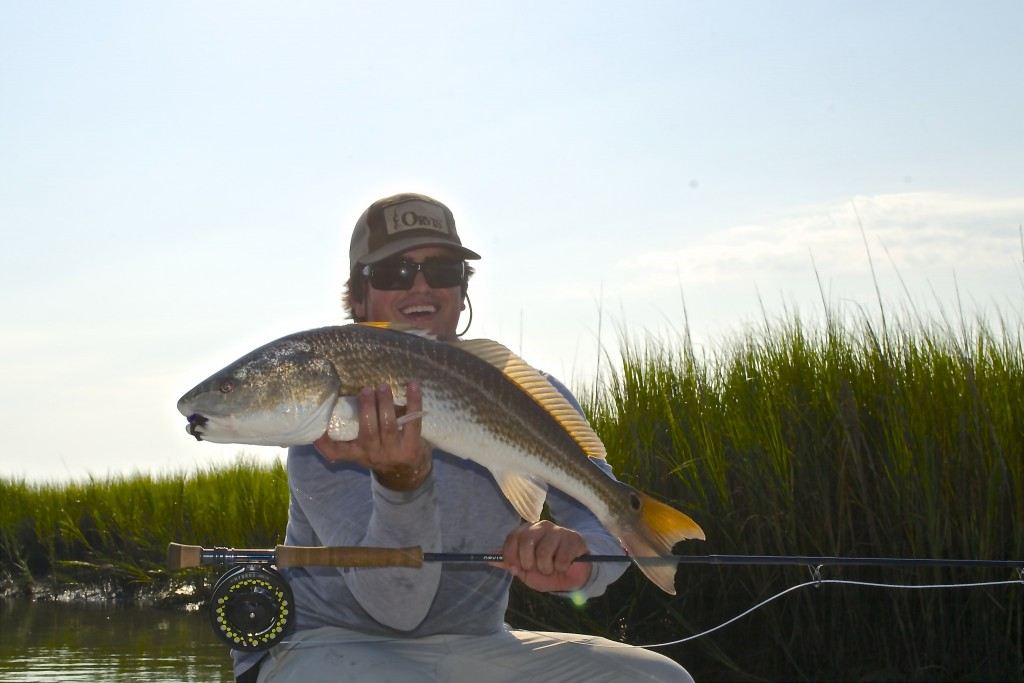 Fly Fishing report Georgetown South Carolina