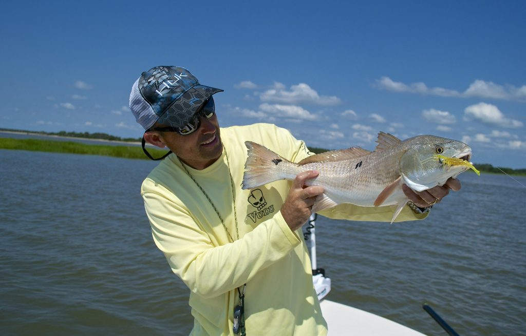 South Carolina Redfish - catch and release redfish