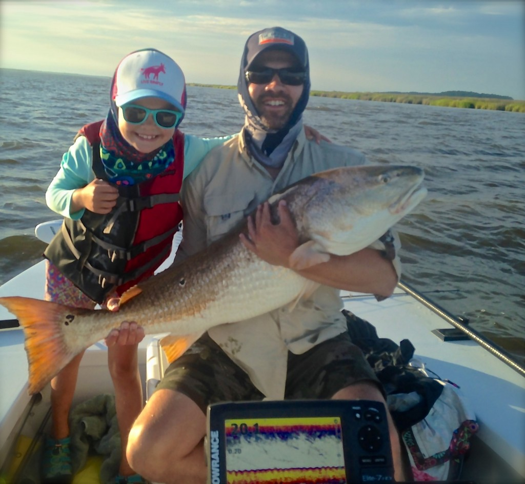 big bull redfish
