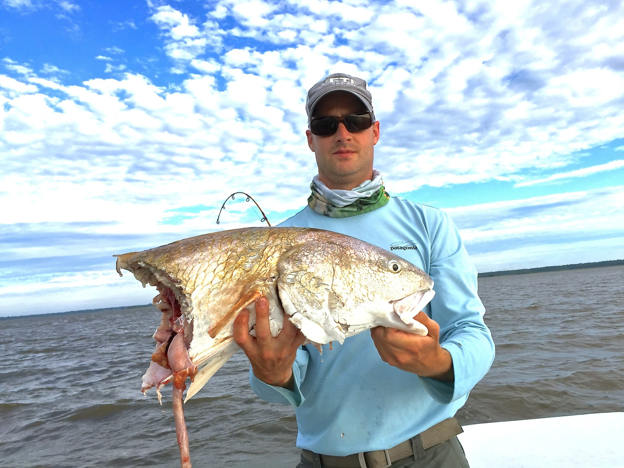 Pawleys island fishing report living water guide services for Carolina fishing tv