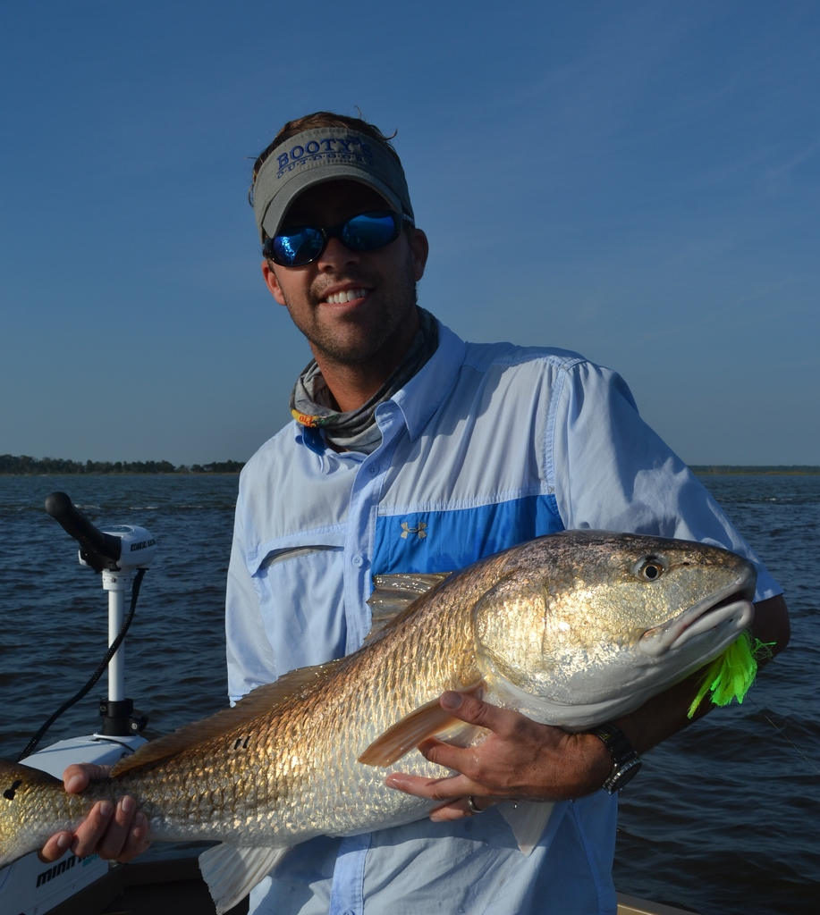 Bull Redfish - Fall Fishing