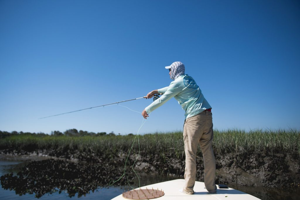 fly fishing guide - pawleys island