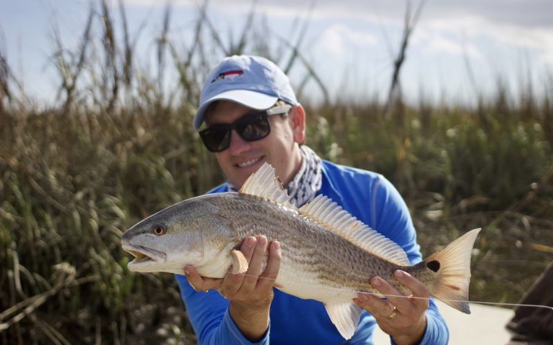 fly fishing winyah bay - south carolina