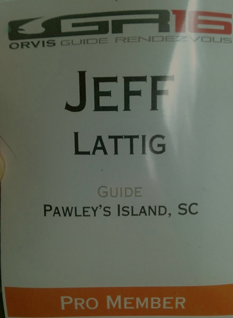 Orvis Endorsed Fishing Guide- Captain Jeff Lattig