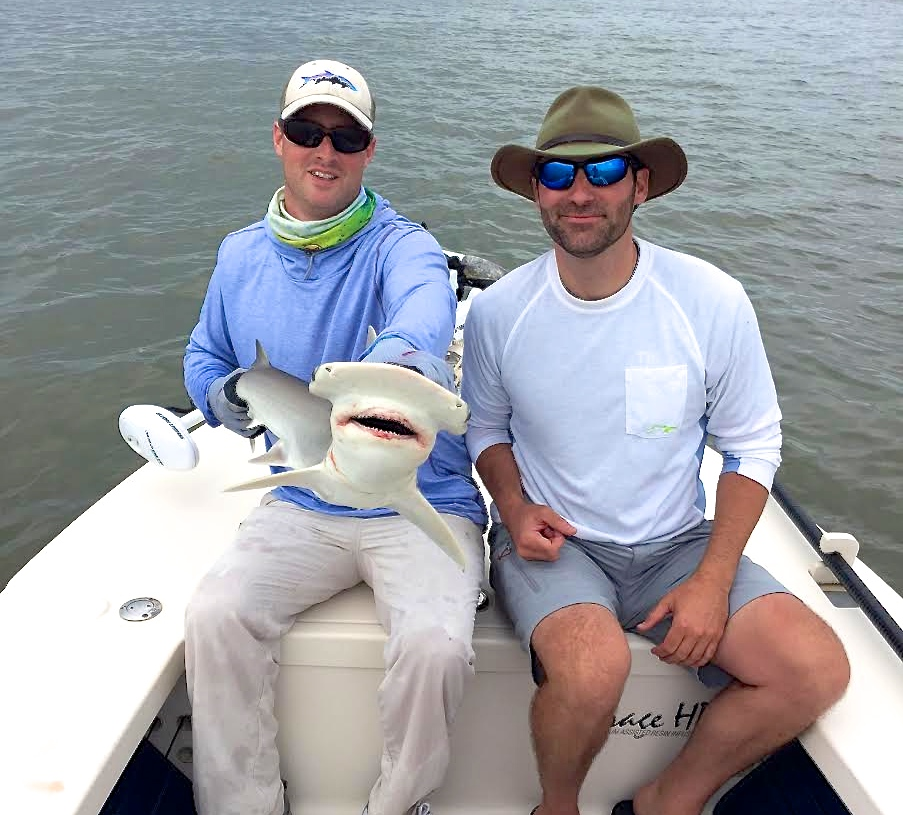 Summer Fishing Charters - Shark fishing