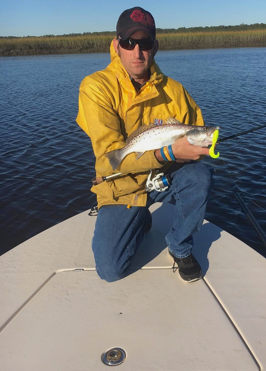 report pawleys island- trout