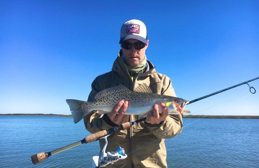 report -speckled sea trout